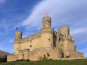 средневековый замок Мендоса