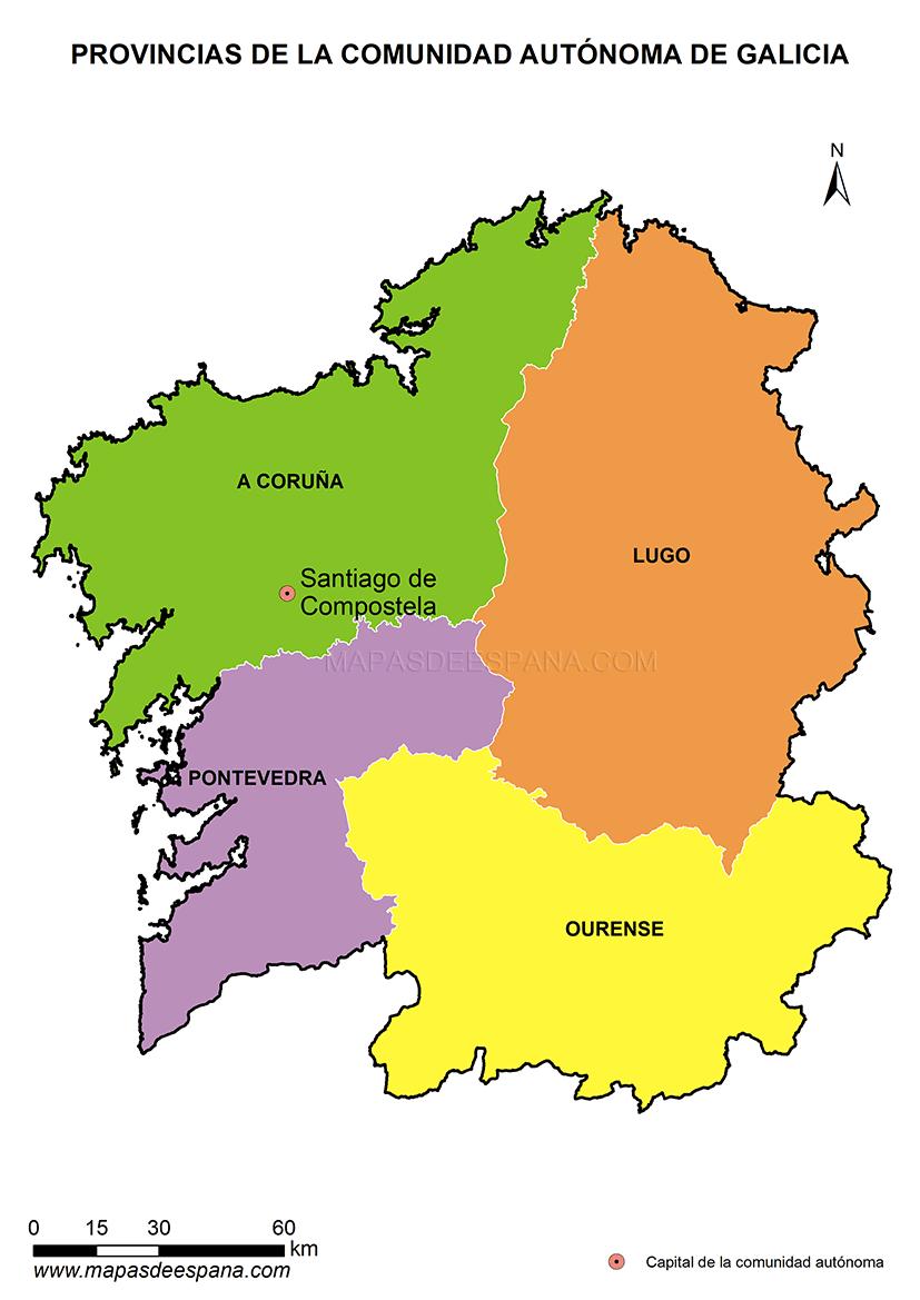 экскурсии по провинциям Галисии