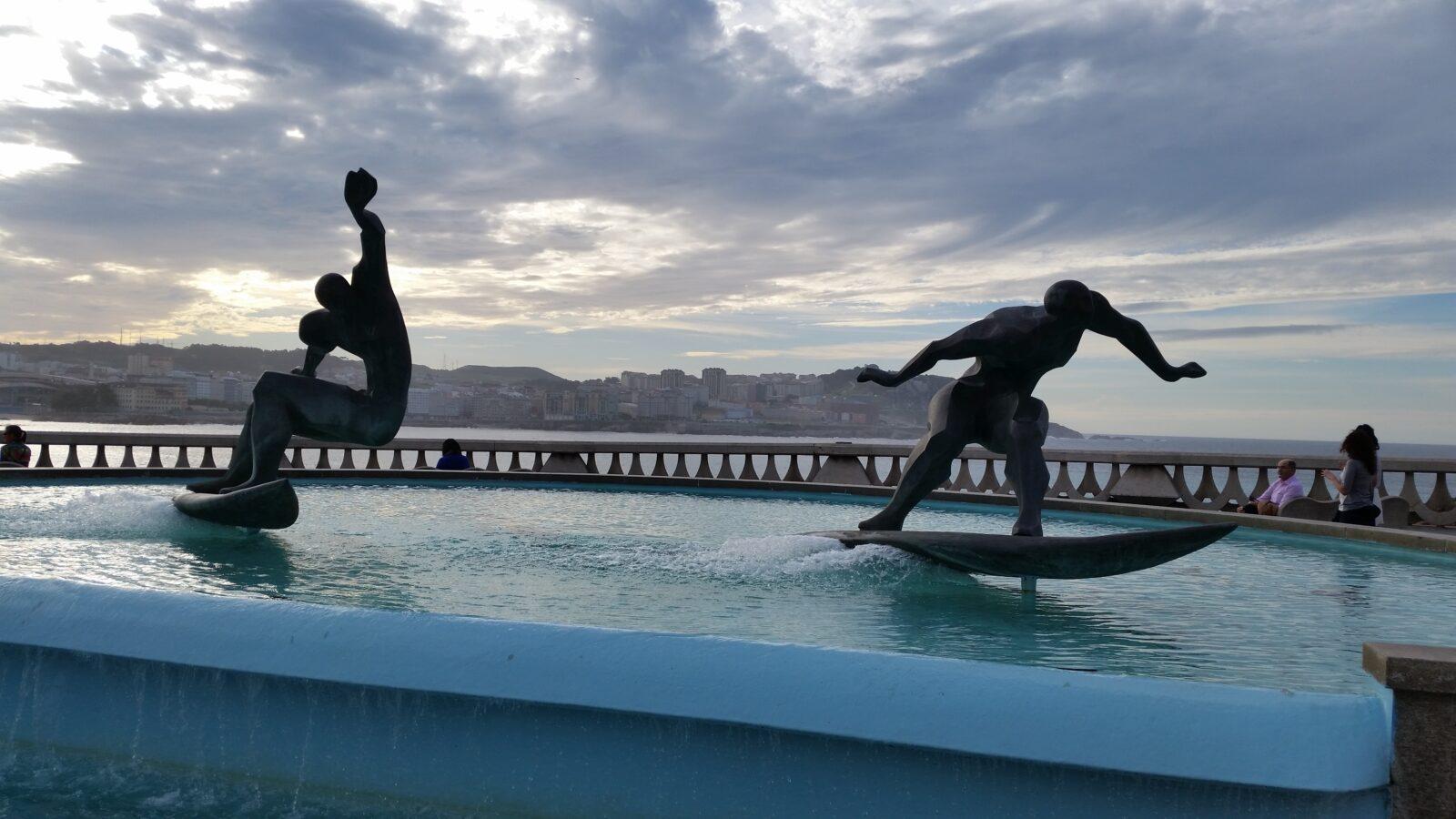 Водные виды спорта на севере Испании