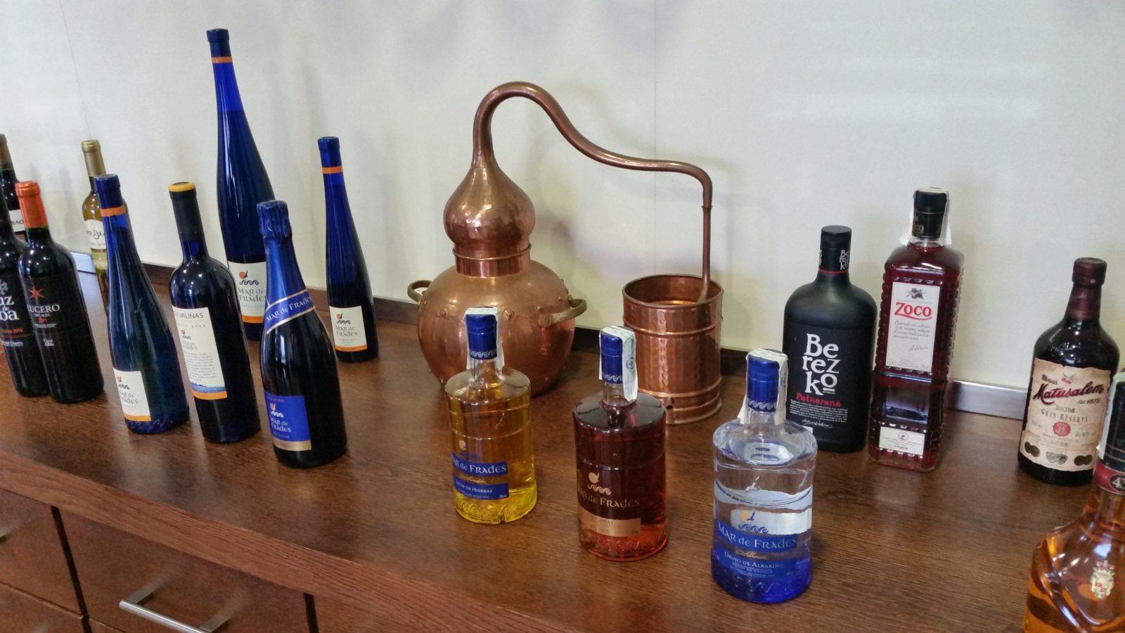 Дегустация вин и орухо на винодельне Фефинянес