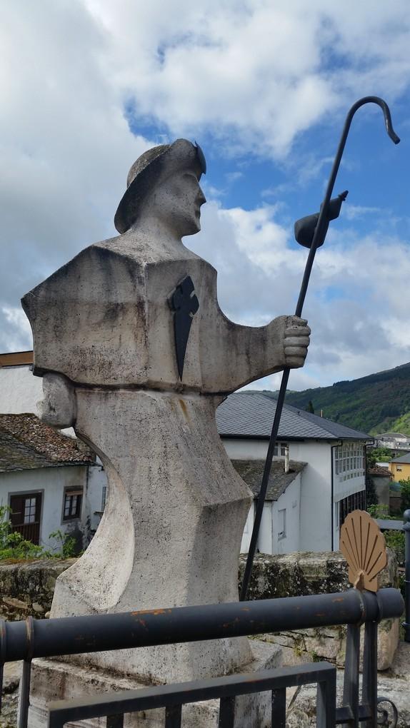 Путь из Вильяфранки в Сантьяго де Компостела