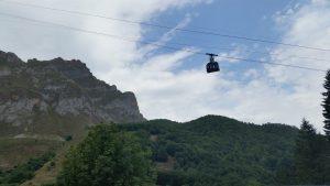 Поездки на канатной дороге в Пиках Европы