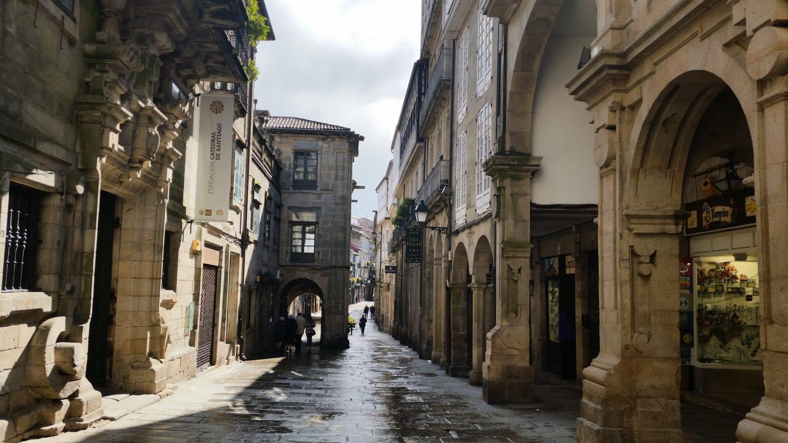 улицы Сантьяго де Компостела