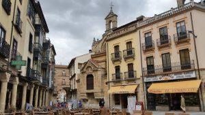 Знакомство с архитектурой исторической части Саламанки