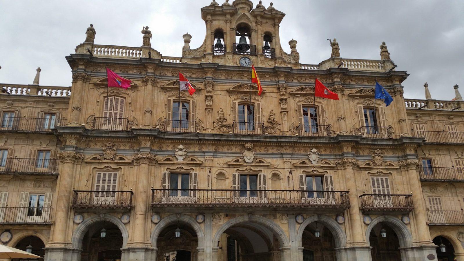 Знакомство с важными постройками Саламанки