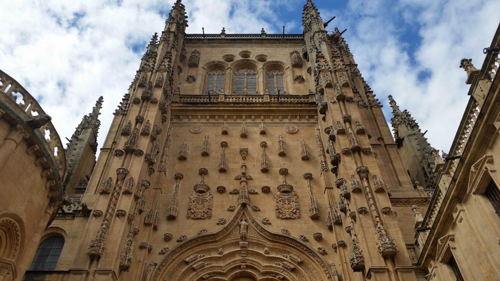 Визит с гидом в кафедральный собор Саламанки