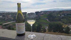 Дегустации вин на террасе винодельни Мартин Кодакс
