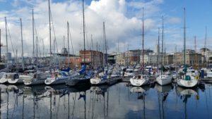 Порт Ла Коруньи встречает круизные суда