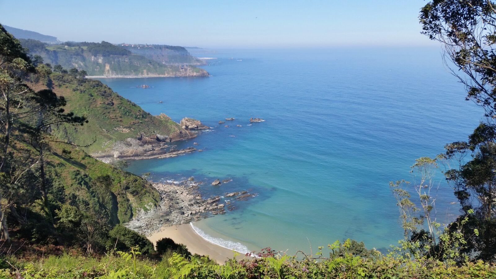береговая линия Ла Коста Кантабрика