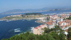 Пейзажи северного побережья Испании