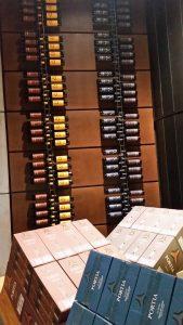 Посещение залов винодельни Портия