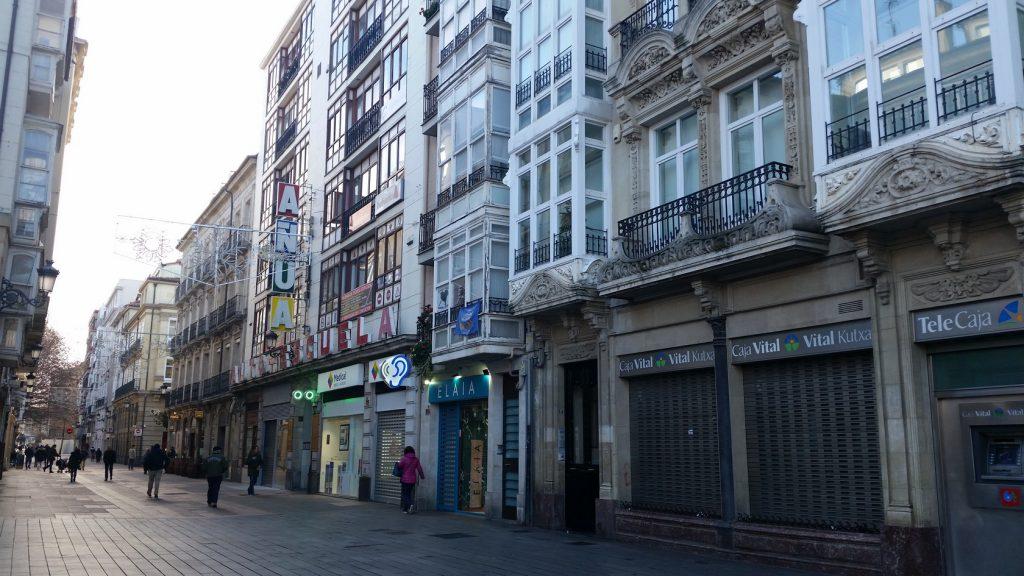 Прогулки по исторической части столицы Страны басков