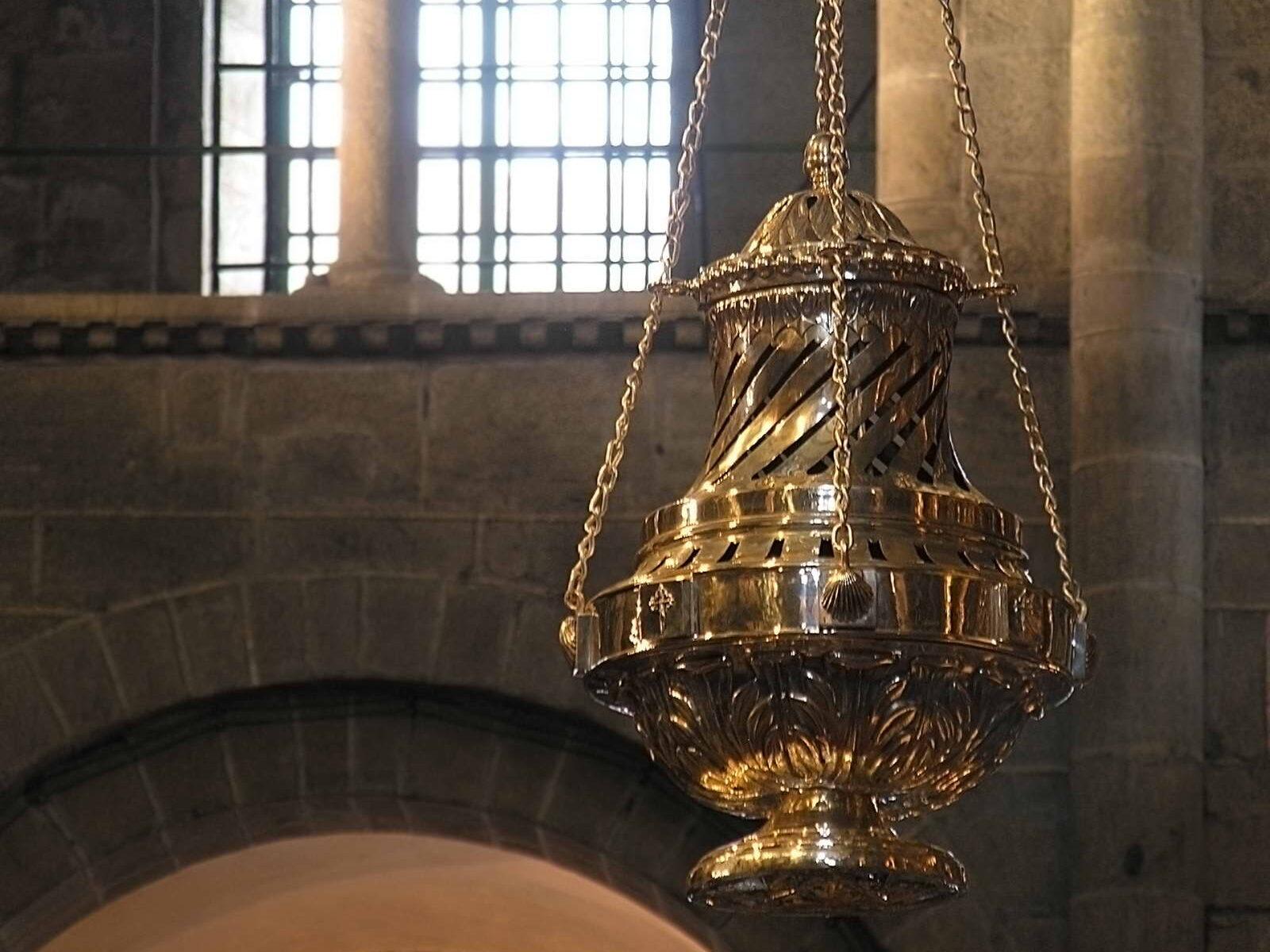 кадило собора Сантьяго де Компостела