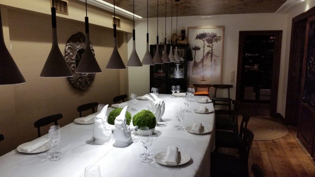 Известный ресторан Сан Себастьяна