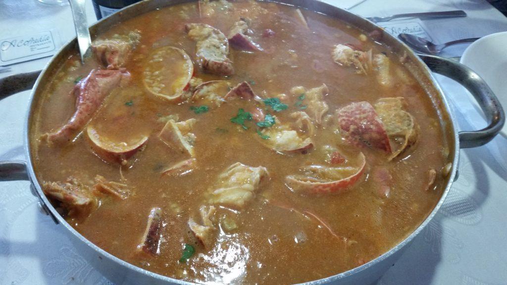 типичные блюда на побережье Галисии