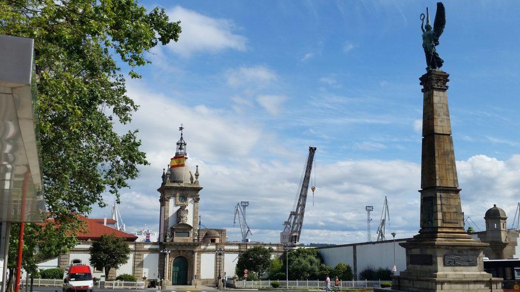 Экскурсия в порт города Ферроль