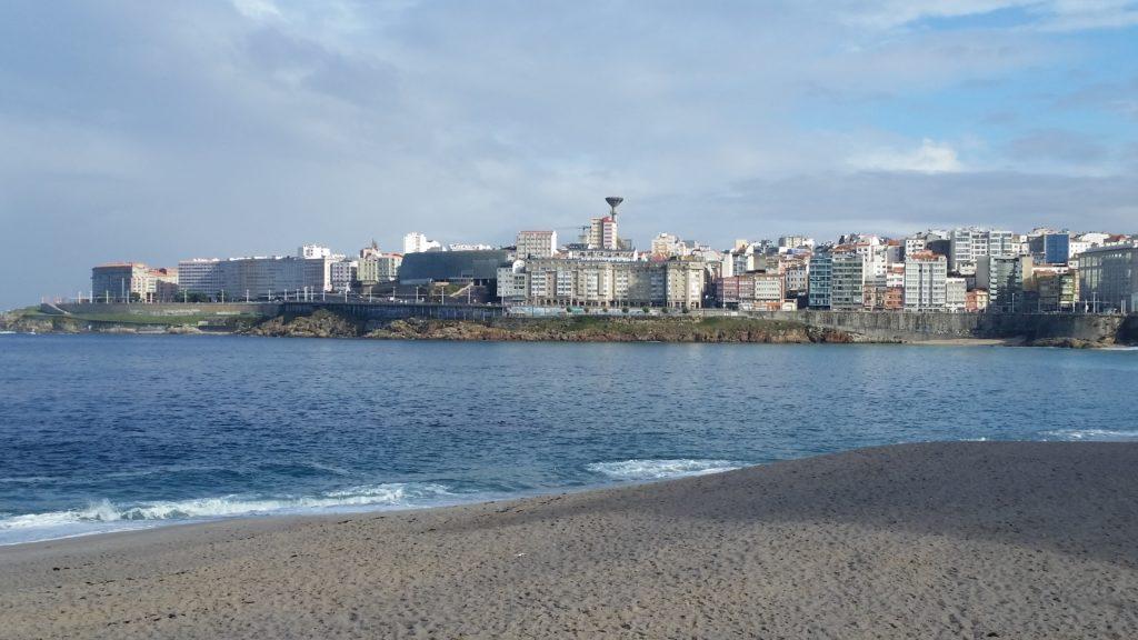 Пляжи с Голубым флагом Ла Коруньи