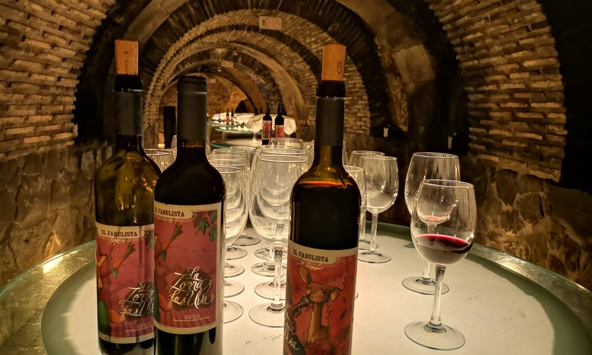 дегустация красные и белое вино Фабулиста