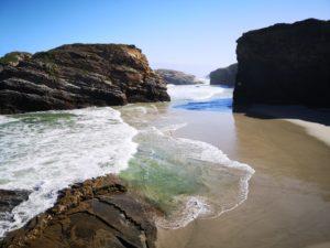 Посетить пляж до прилива