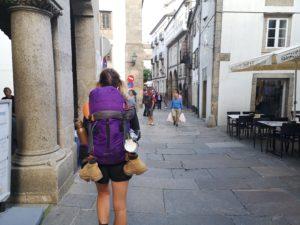 Самостоятельный путь в Сантьяго