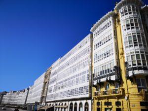 Застекленные фасады Ла Коруньи