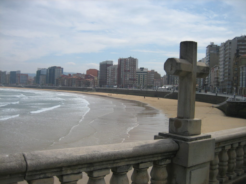 Отдых на пляжах северной Испании