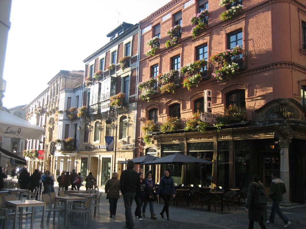Архитектура городов севера Испании