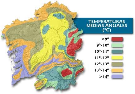 погода и климат Галисии