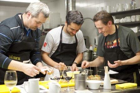 Кулинарные курсы в Стране Басков