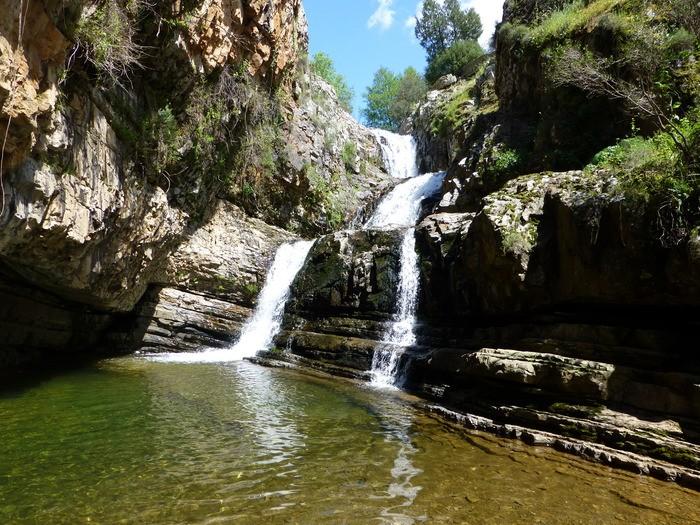красивейшие водопады Испании