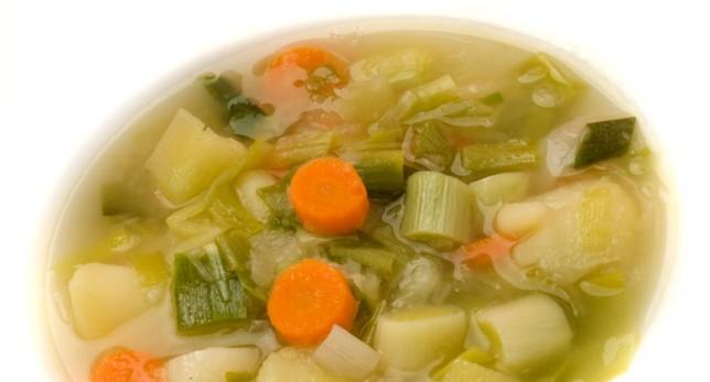 Porrusalda – похлебка из картофеля , лука порея и морковки.