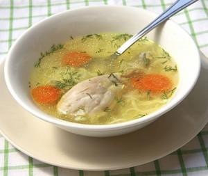 Sopa de pollo – куриный суп.