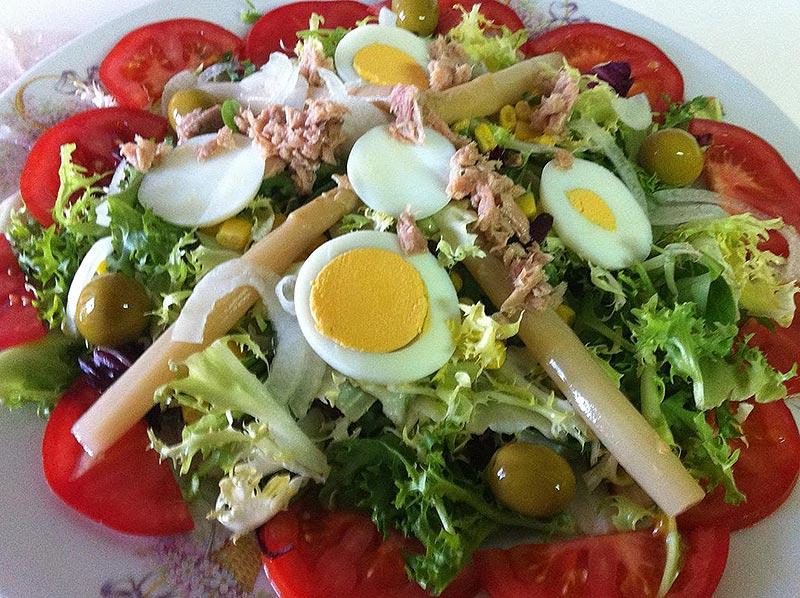 Ensalada mixta – овощной микс салат