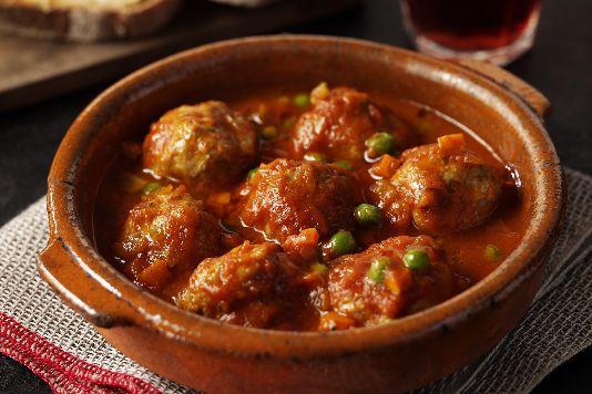 Albondigas – мясные тефтельки из свиного или говяжьего фарша