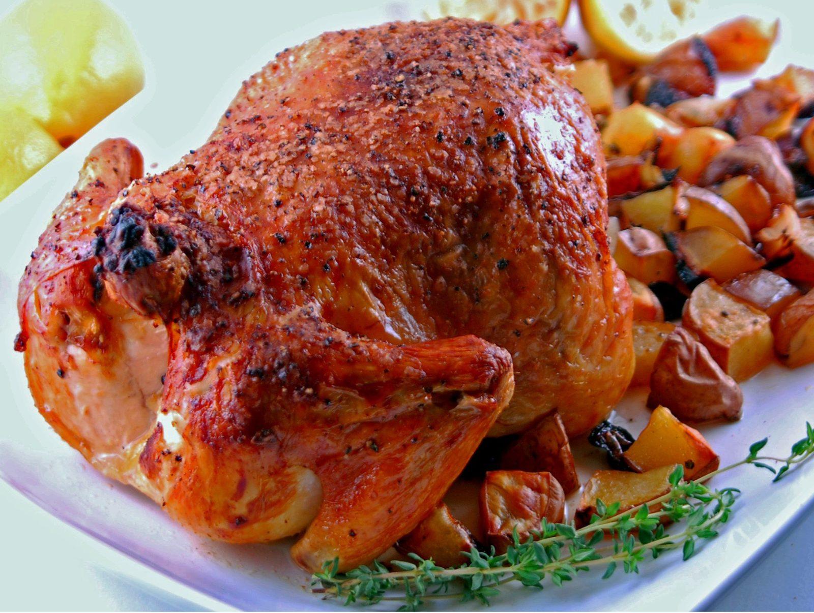 Pollo asado – курица гриль