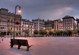 Площади исторической части Памплоны