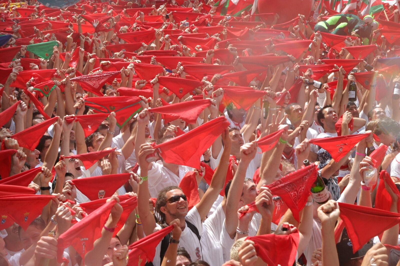 праздник Сан Фермин в Памплоне