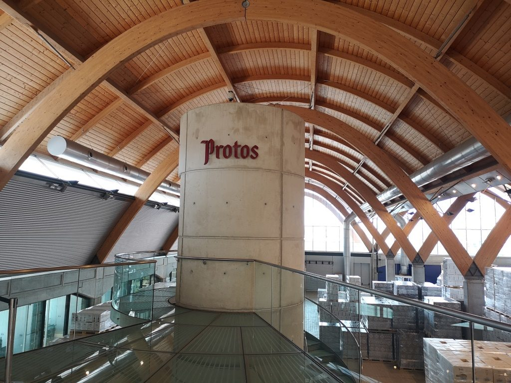 Экскурсии в сооружение Роджерса для винодельни севера Испании