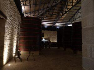 Экскурсии по производственным цехам винодельни Рамон бильбао