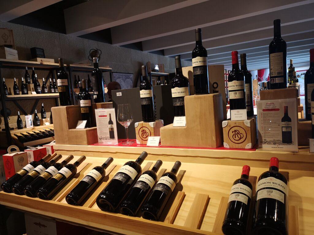 дегустация красных вин Рамон Бильбао