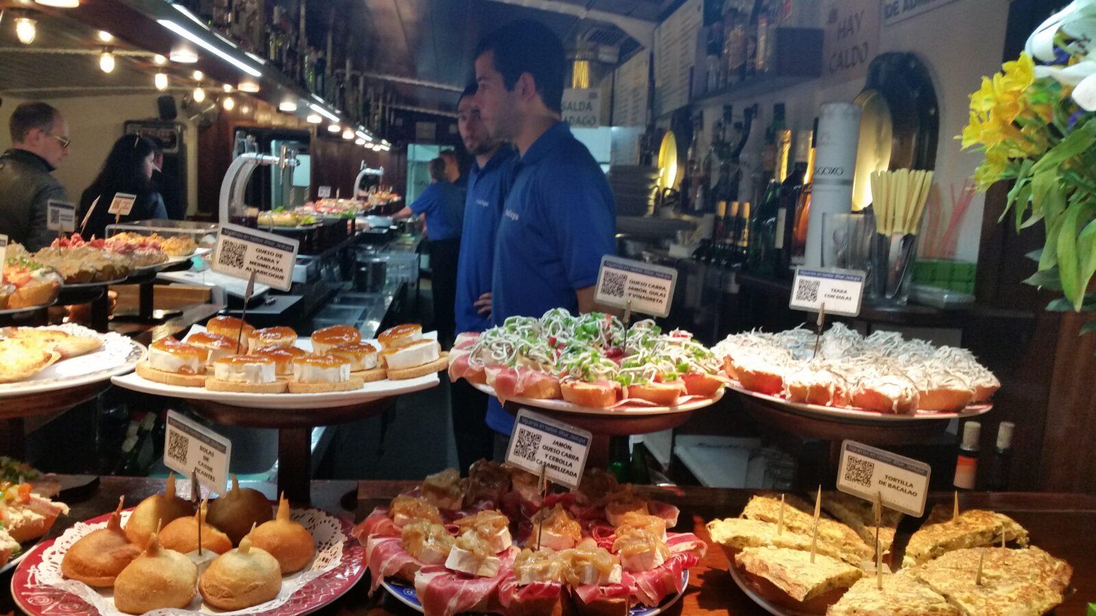 пинчос бары Страны Басков